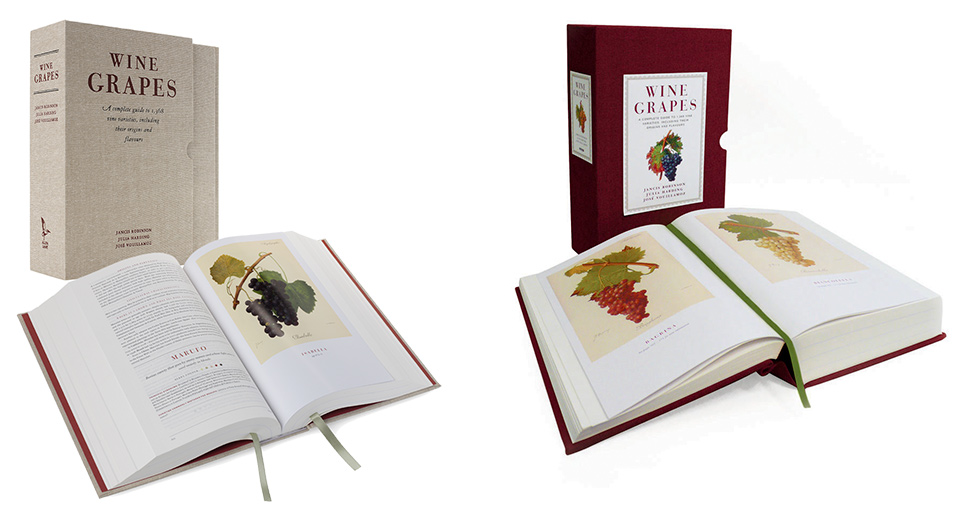 Wine Grapes UK and US Editions